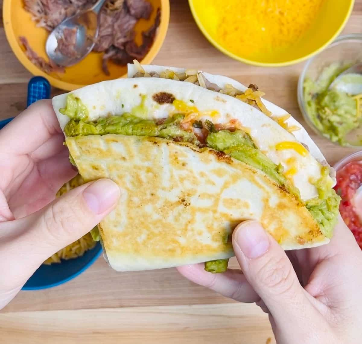 Tiktok Tortilla Wrap Hack