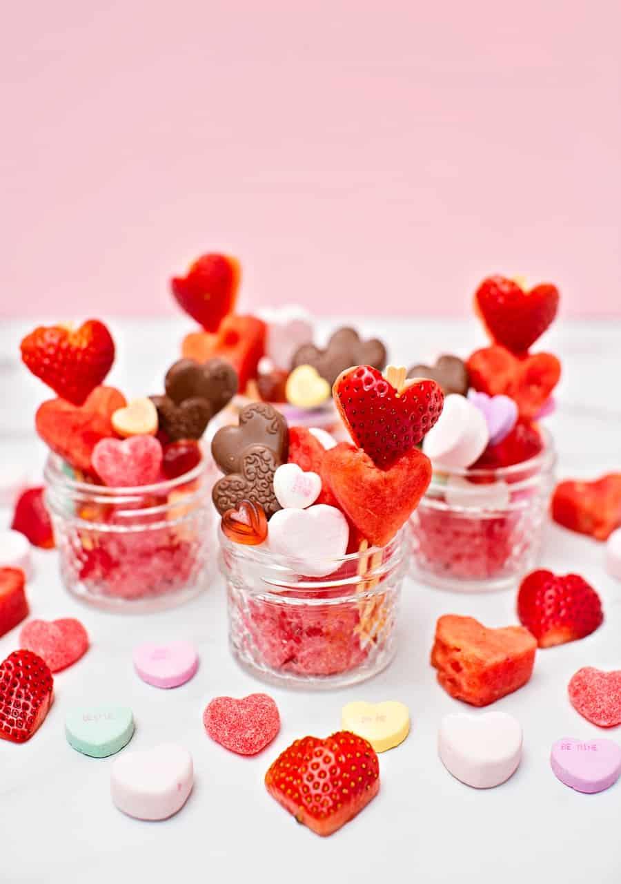 Valentine Jarcuterie - Charcuterie in a Jar
