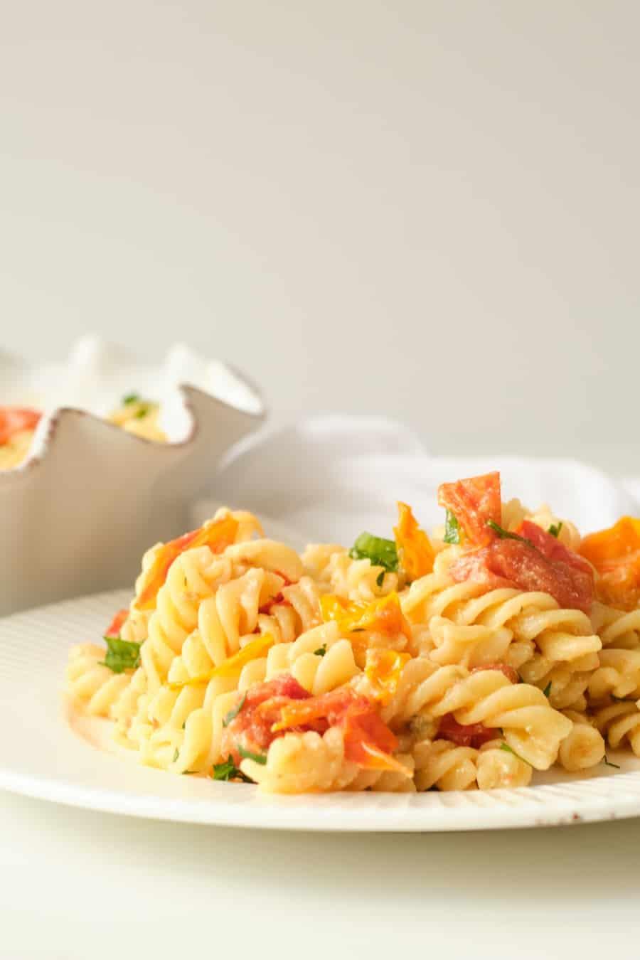 goat cheese tomato pasta