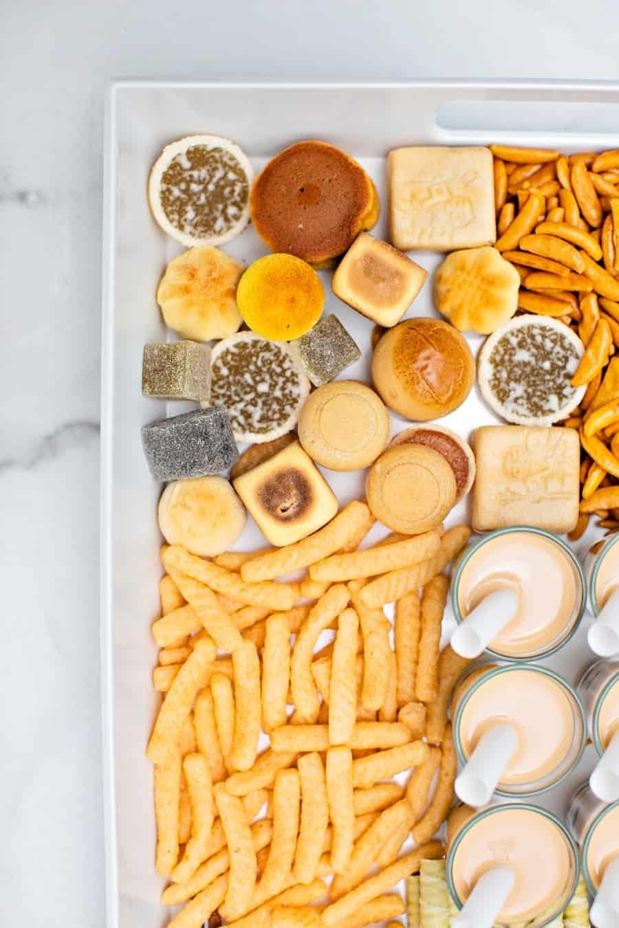 Asian Snack Tray