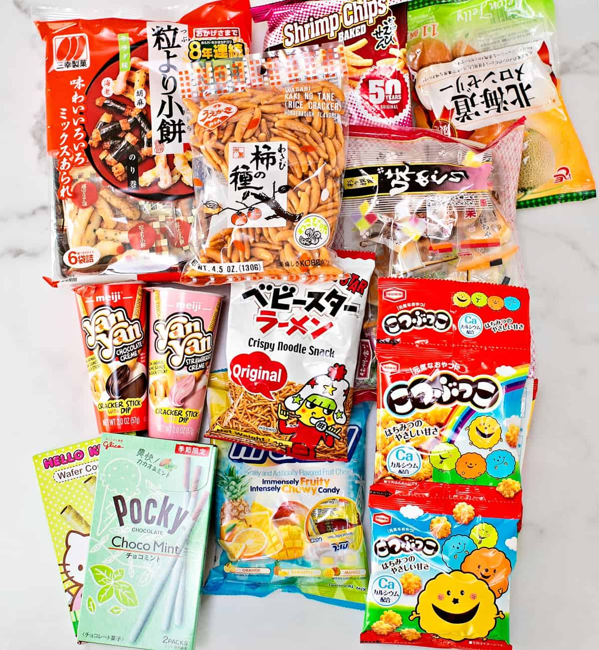 Best Chinese Asian Snacks