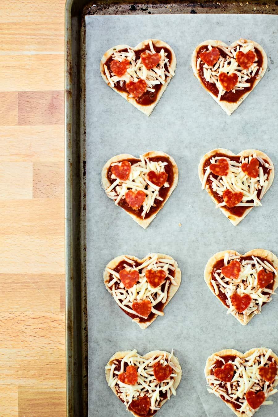 heart pizza recipe
