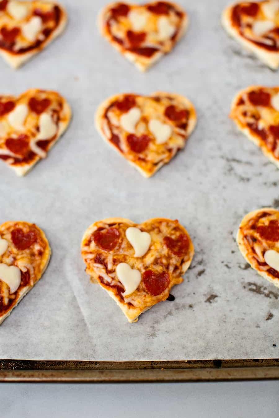 valentine pizza recipe