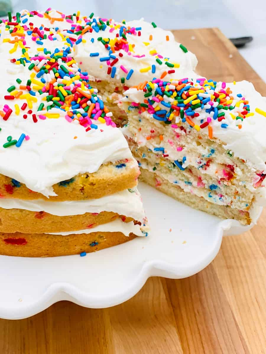 Molly Yeh's Sprinkles Cake