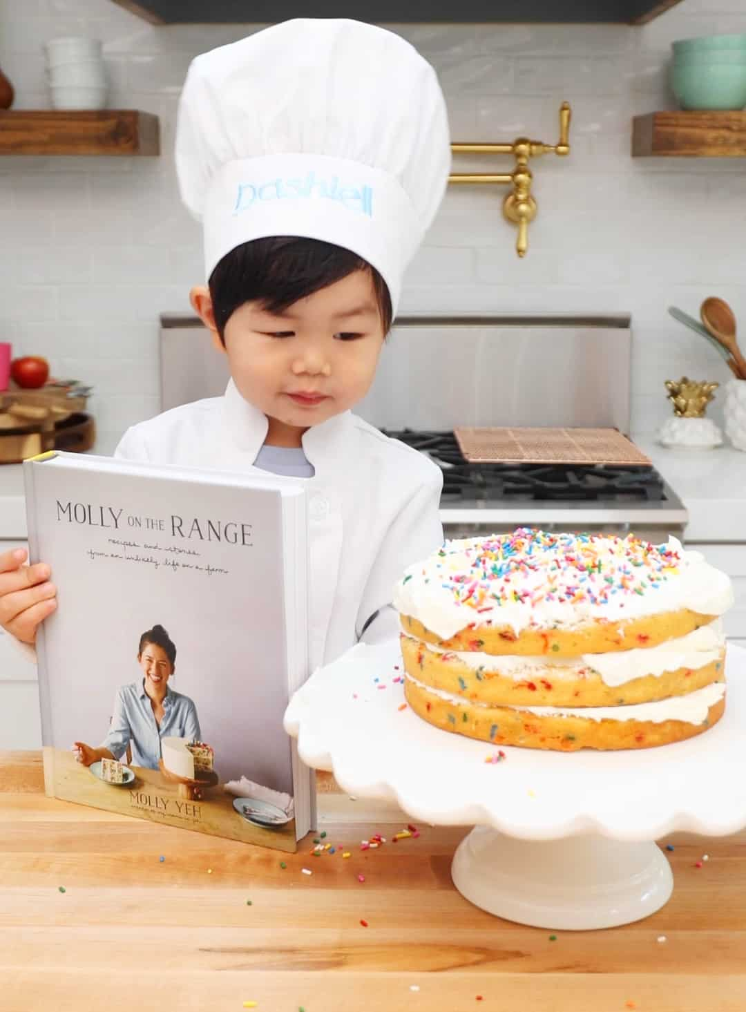 Dash Bakes The Greats: Molly Yeh's Sprinkles Cake