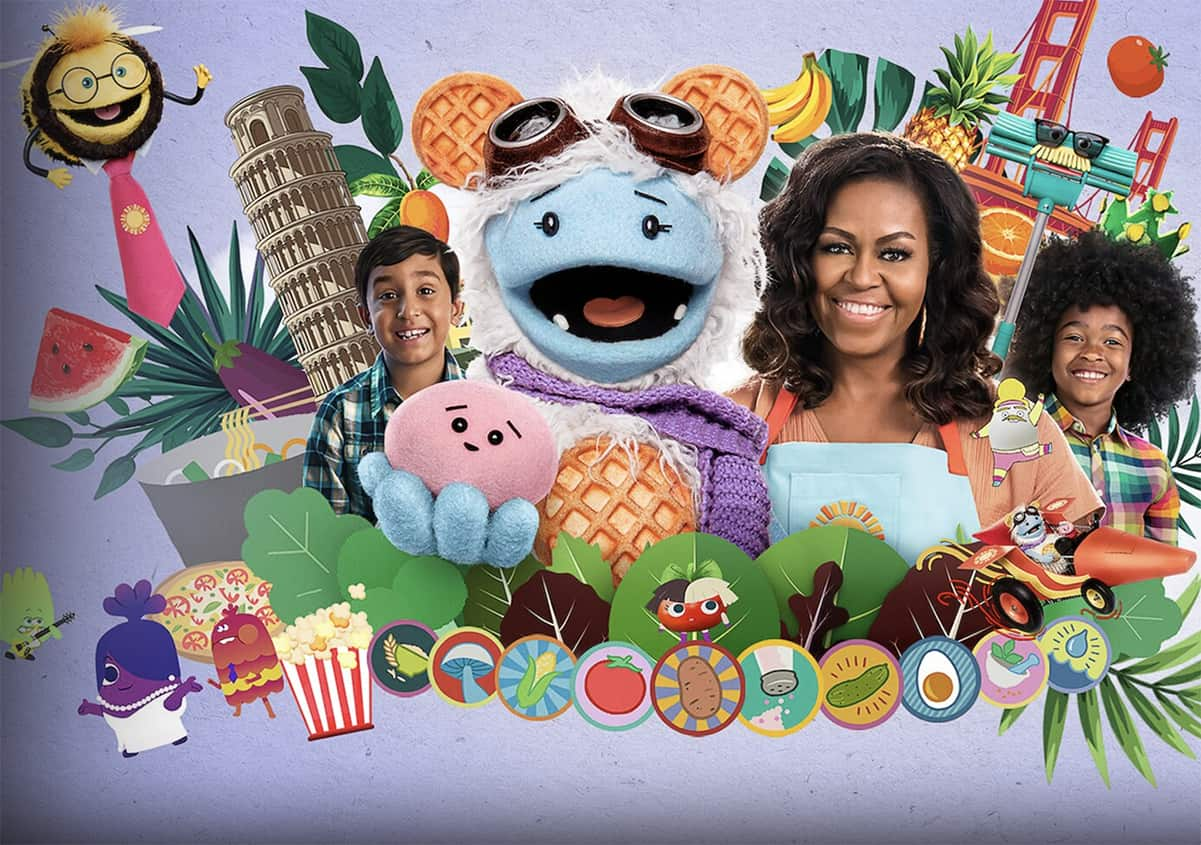 Waffles + Mochi Netflix Show by Michelle Obamais a Fun Way to Get Kids Eating Healthy