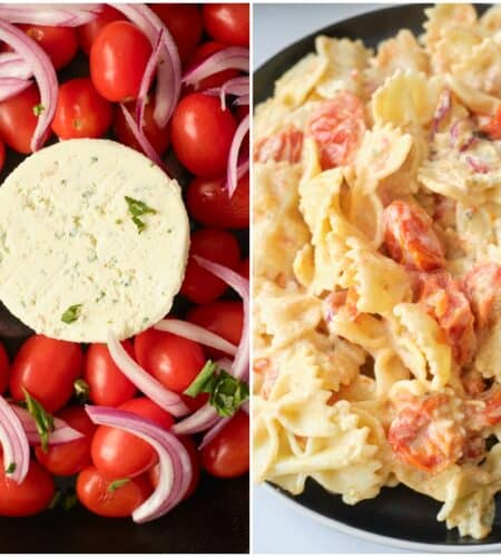 Boursin Cheese Tomato Pasta Recipe