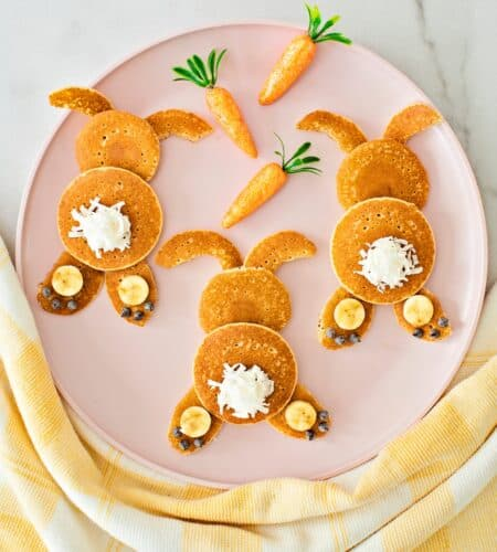 Mini Bunny Pancakes