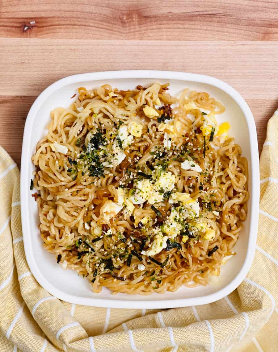 TikTok Ramen Recipe Food Hack