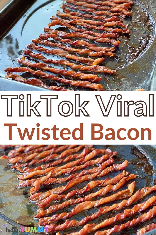 TikTok Twisted Bacon Recipe