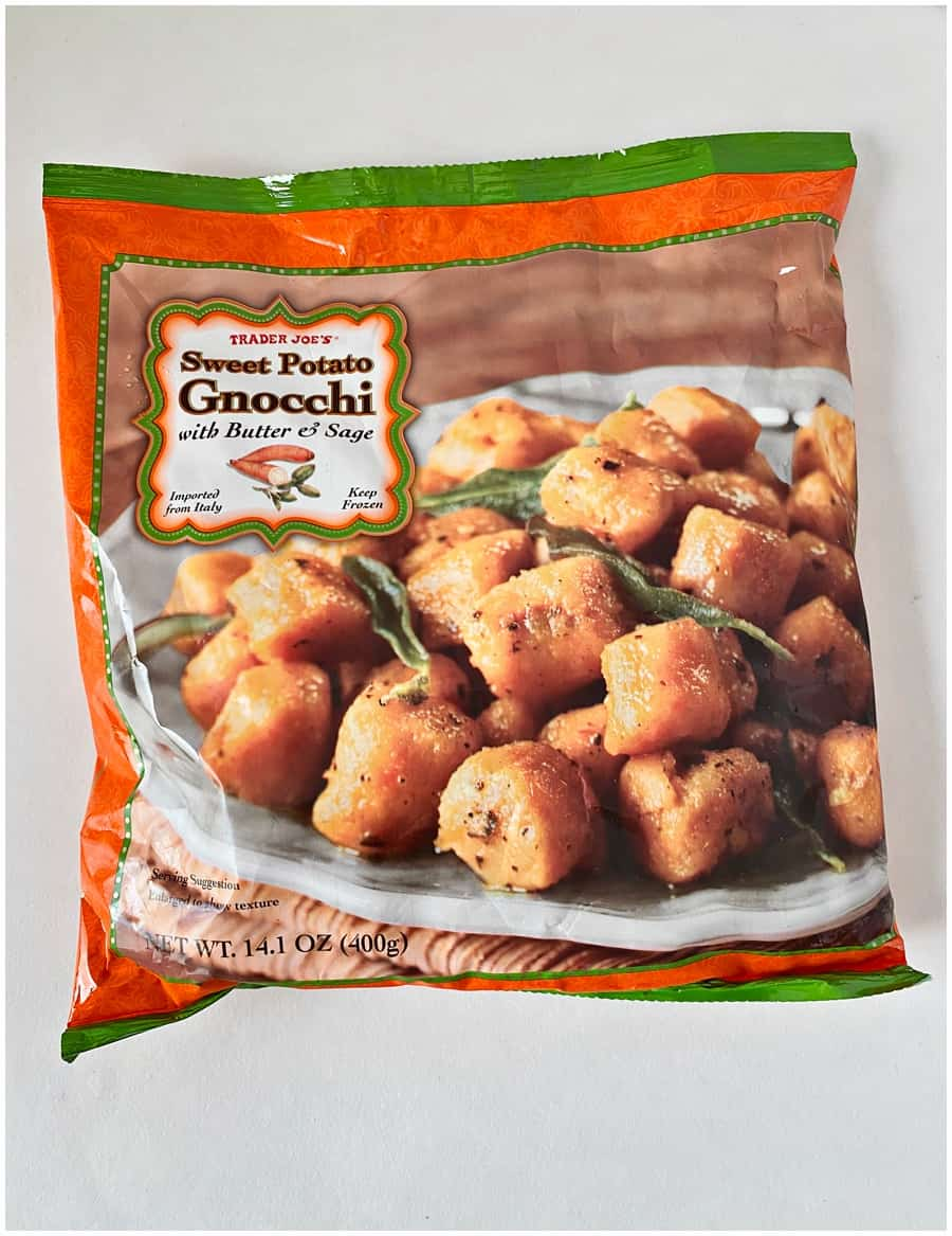 Trader Joe's Sweet Potato Gnocchi