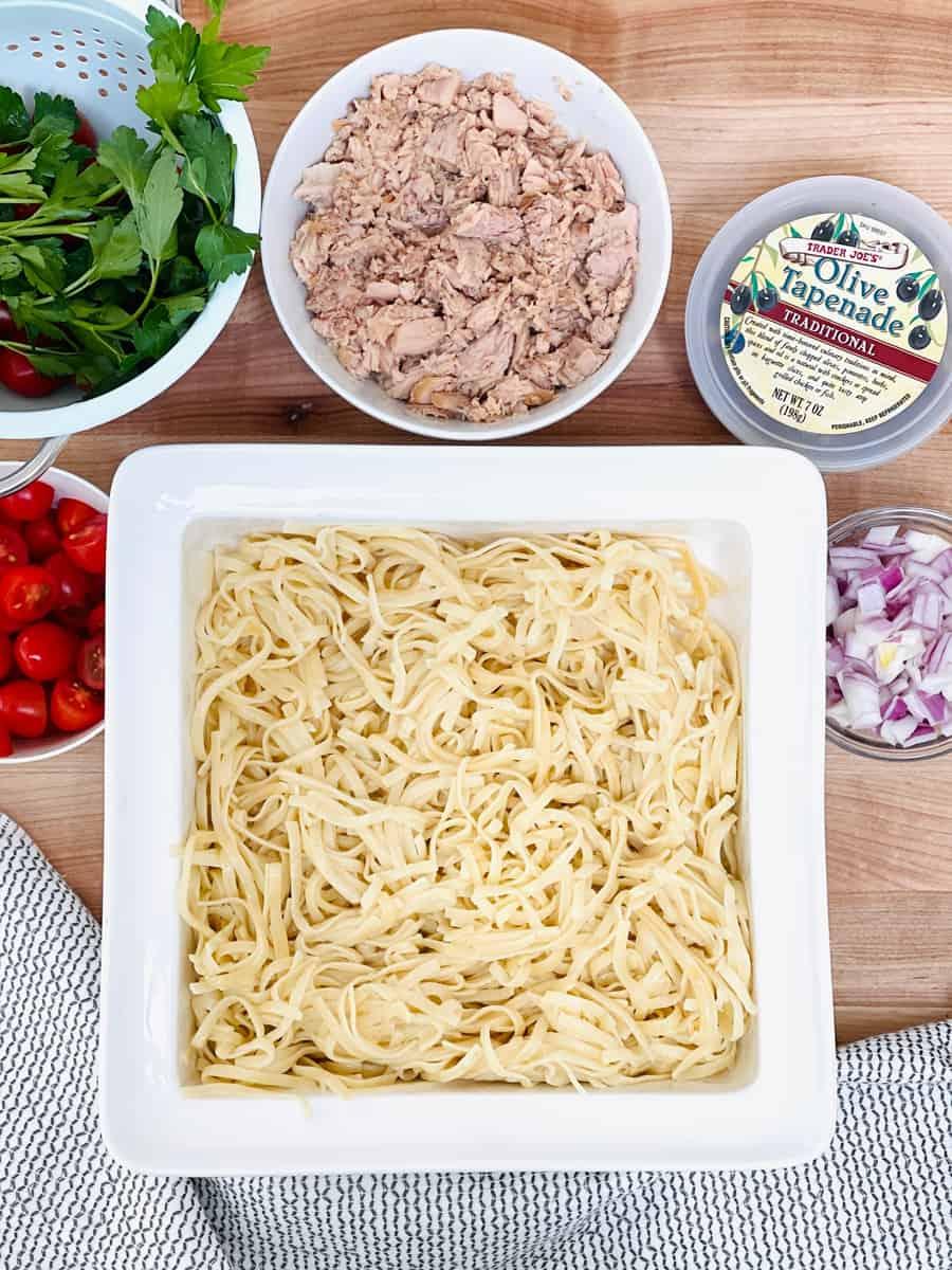 Tuna Tapenade Pasta Recipe