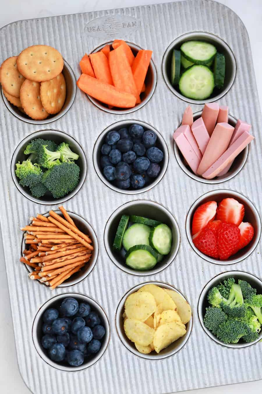 Muffin Tray to Hold Snacks for Kids