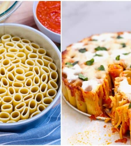 Honeycomb Pasta Cake Recipe