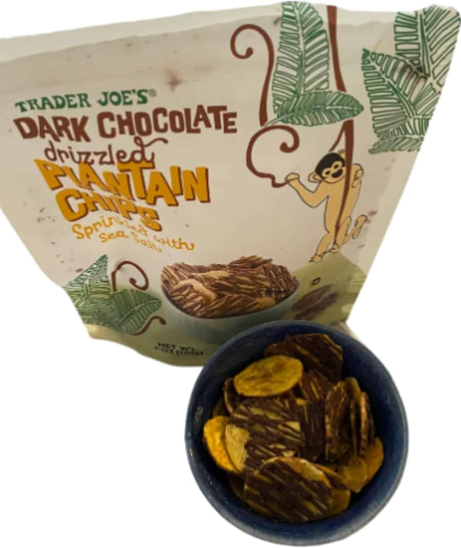 Trader Joe's Chocolate Plantains