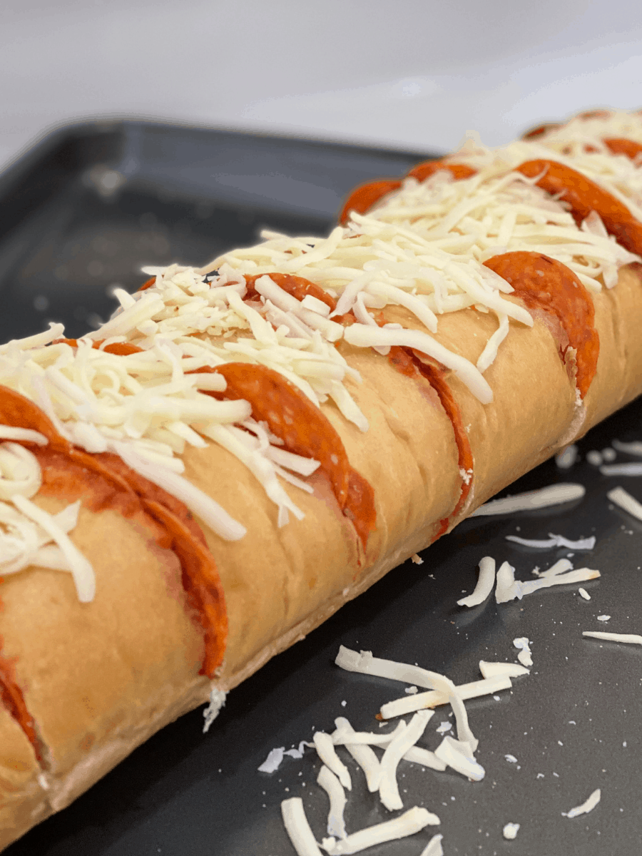 This VIRAL TikTok Pizza Baguette Recipe Will Steal a Pizza Your Heart