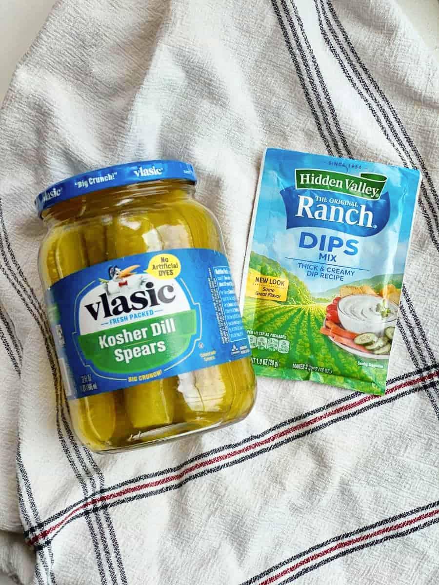 TikTok Ranch Pickles