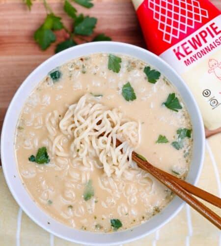 Mayo Ramen Noodle Hack