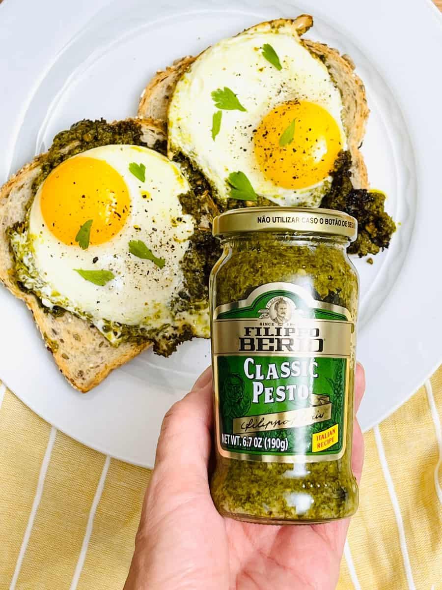 pesto egg recipe