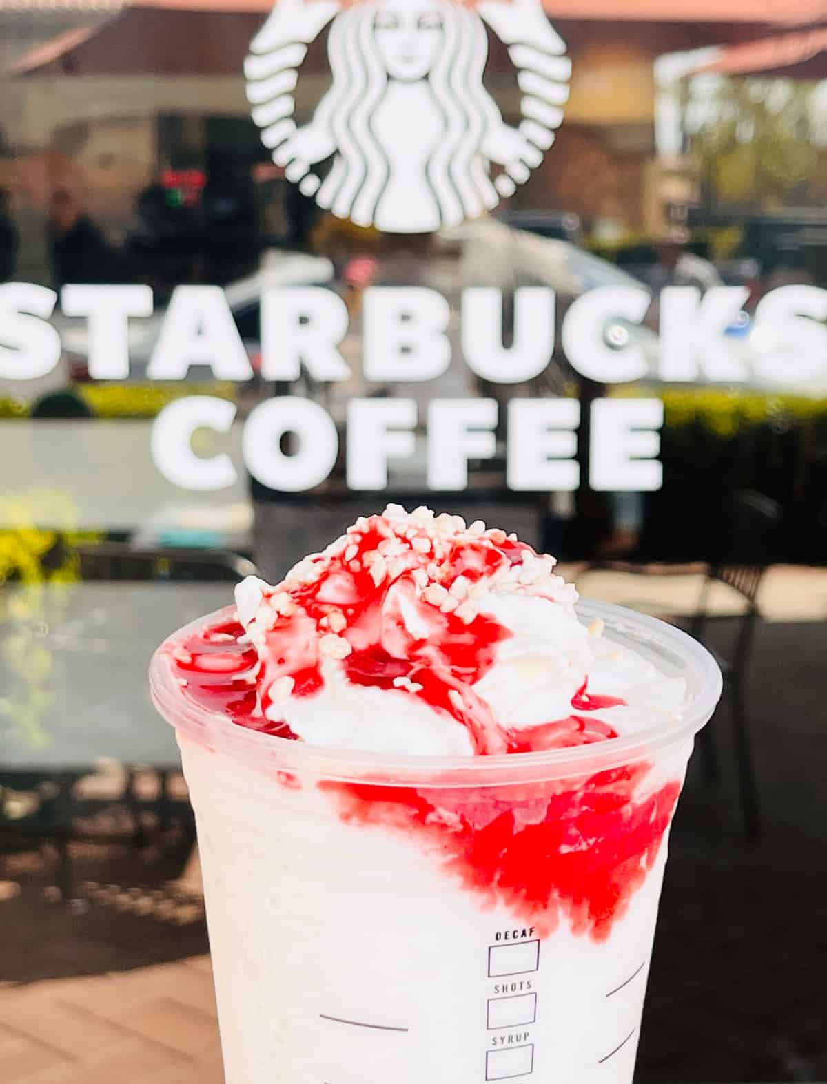 This Is What Starbucks' New Strawberry Funnel Cake Frappuccino Tastes Like