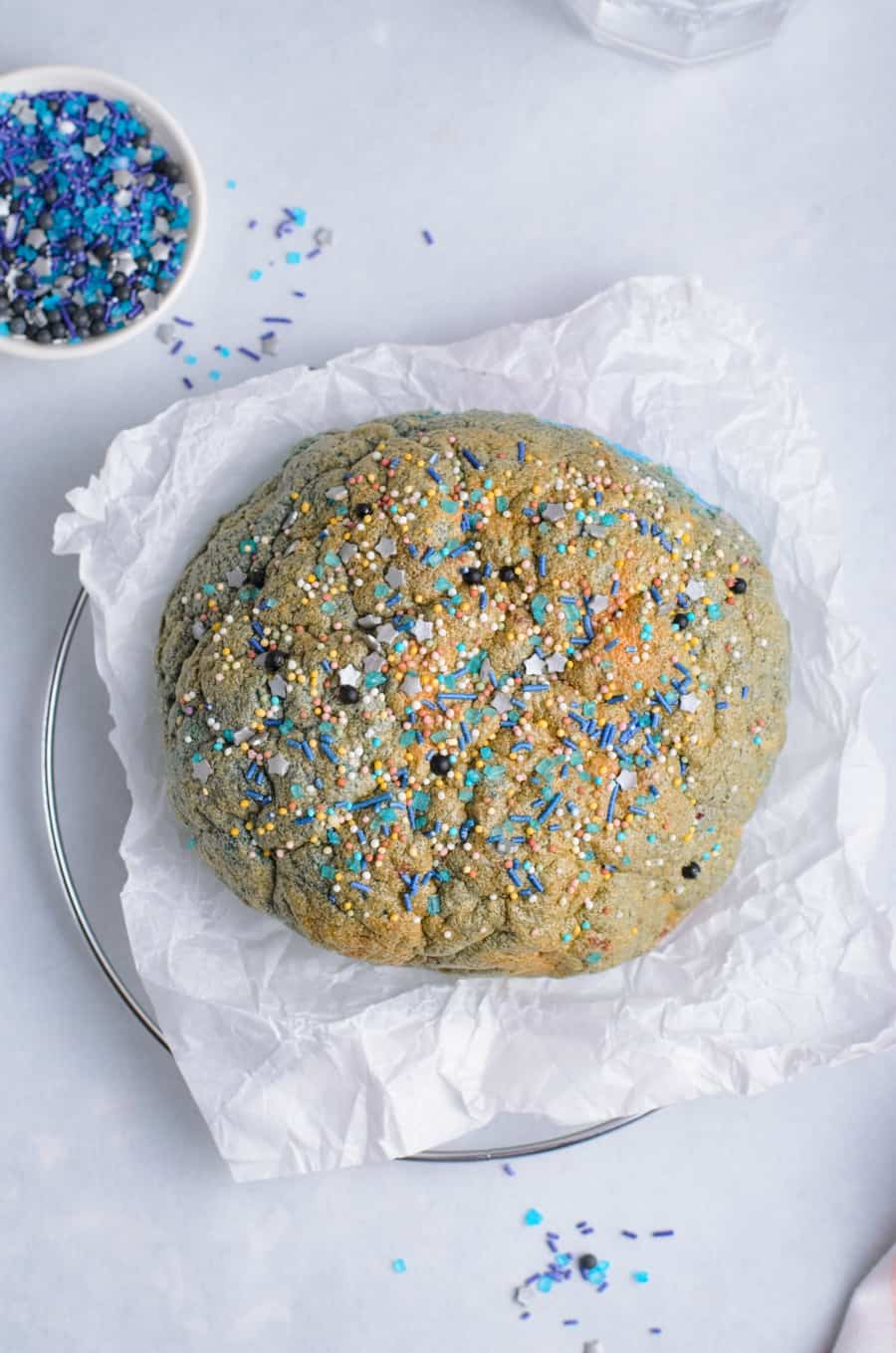 Rainbow Unicorn TikTok Cloud Bread Recipe
