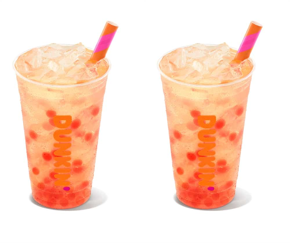 Dunkin' Is Adding Popping Bubbles To Its Menu – Summer Just Got Better