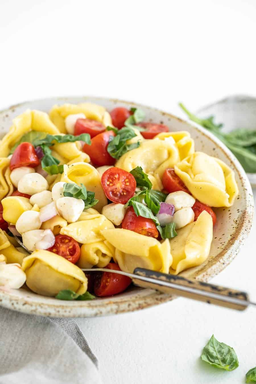 easy pasta salad tortellini recipe