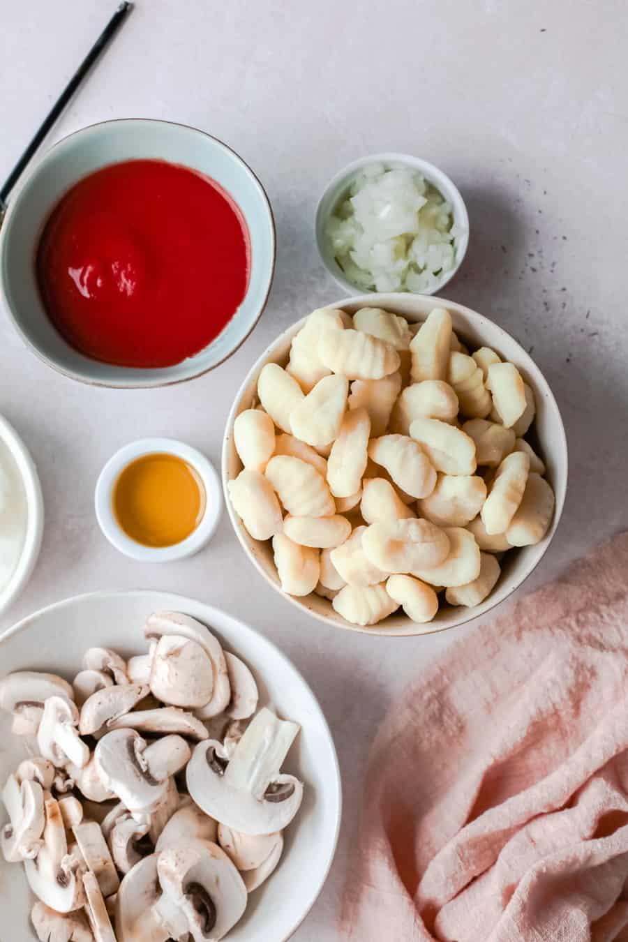 Mozzarella Baked Gnocchi Recipe