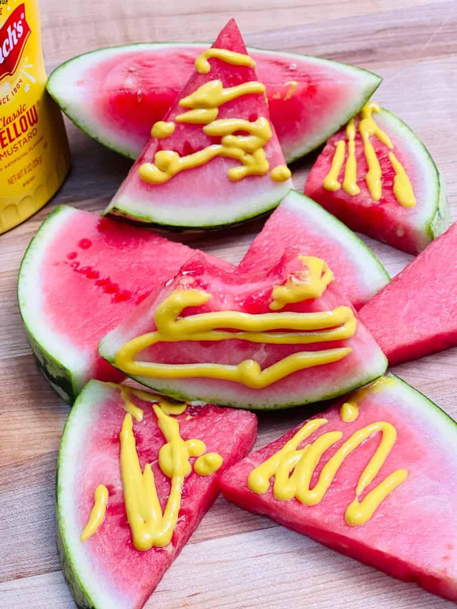 Mustard on Watermelon TikTok Trend