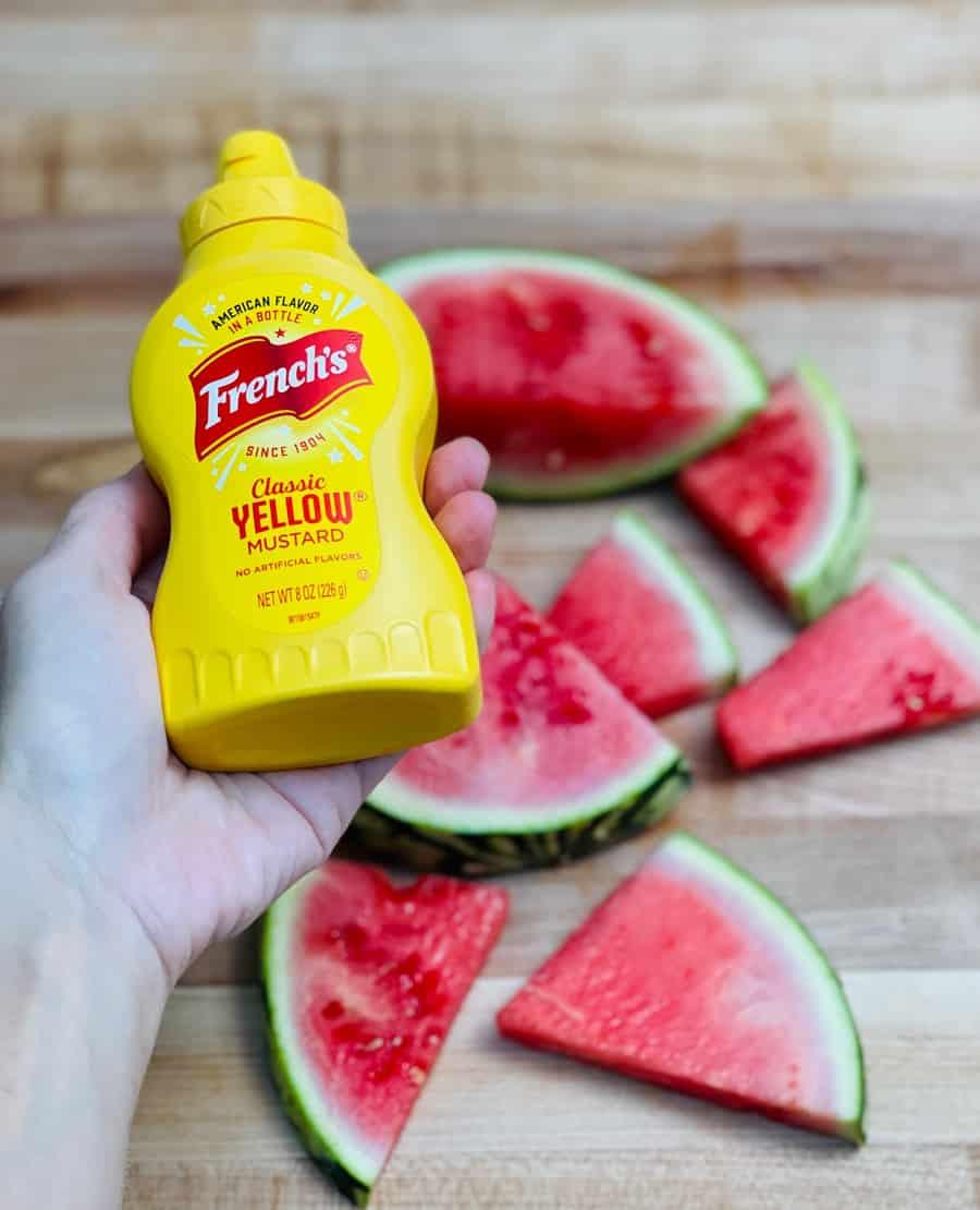 mustard watermelon