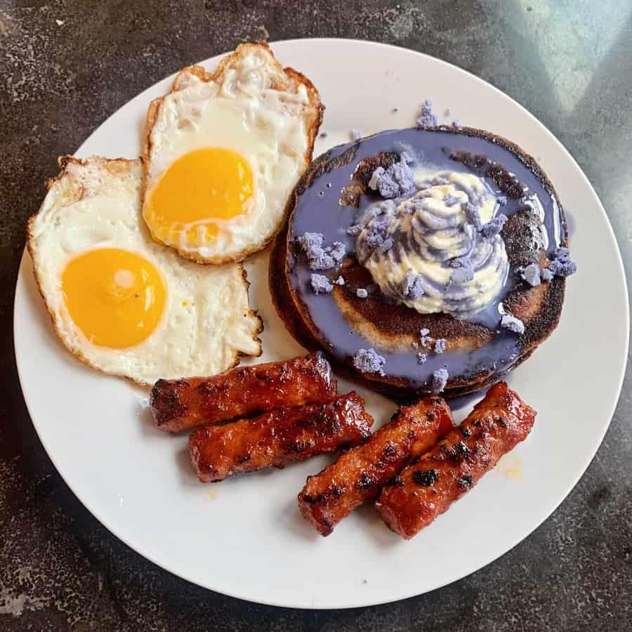 Trader Joe's Ube Mochi Pancake Mi