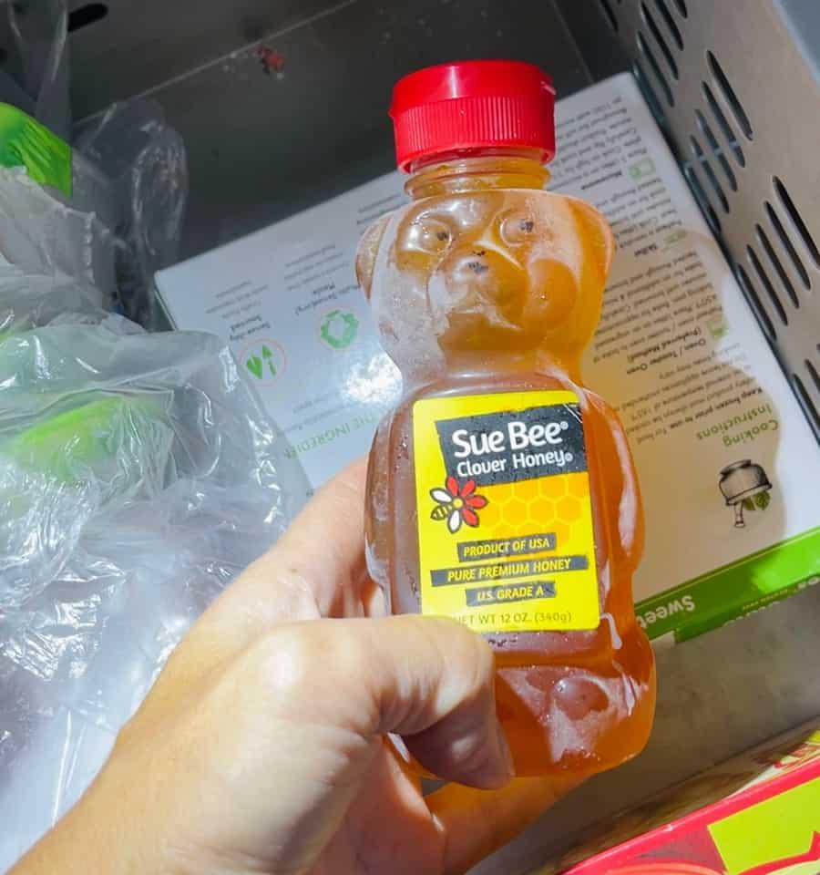 frozen honey tiktok trend
