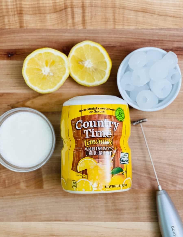 Whipped Lemonade Recipe