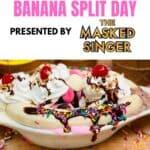 Celebrate National Banana Split Day With The Masked Singer!
