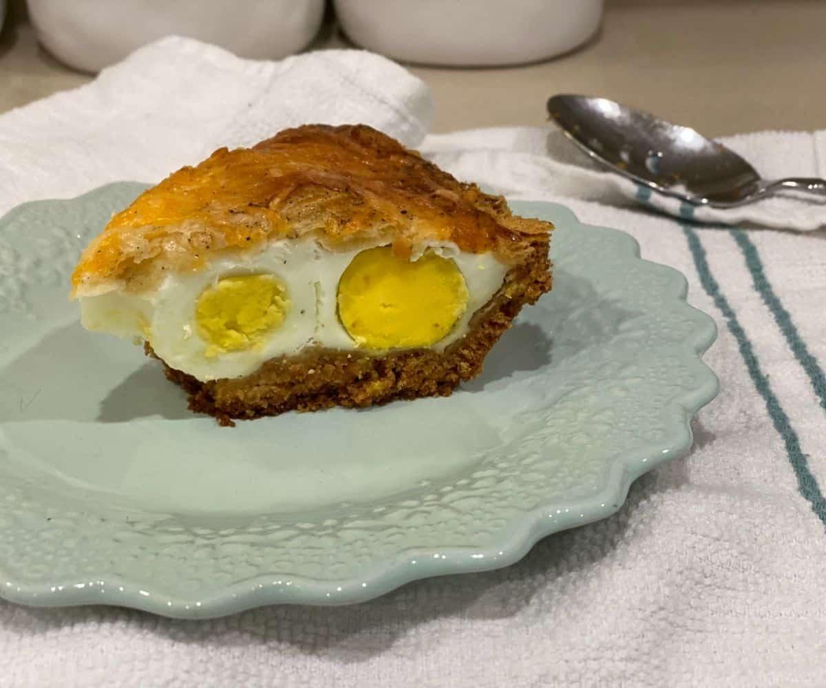 TikTok Breakfast Egg Pie