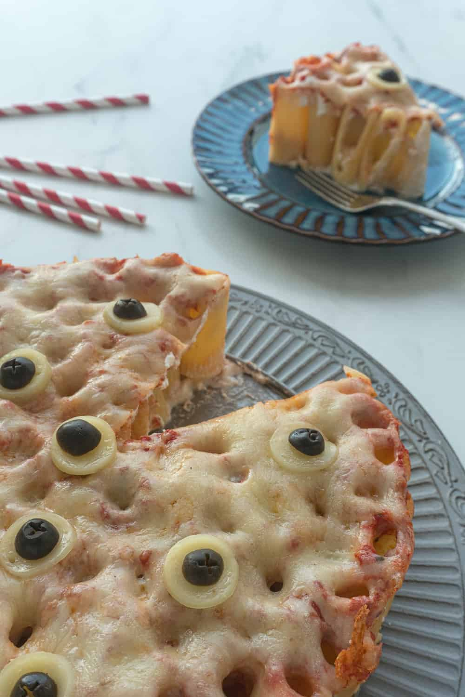 Halloween Baked Pasta