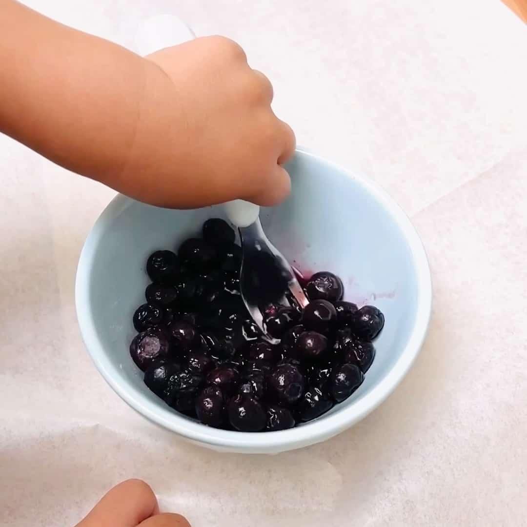 TikTok Blueberry Cookies