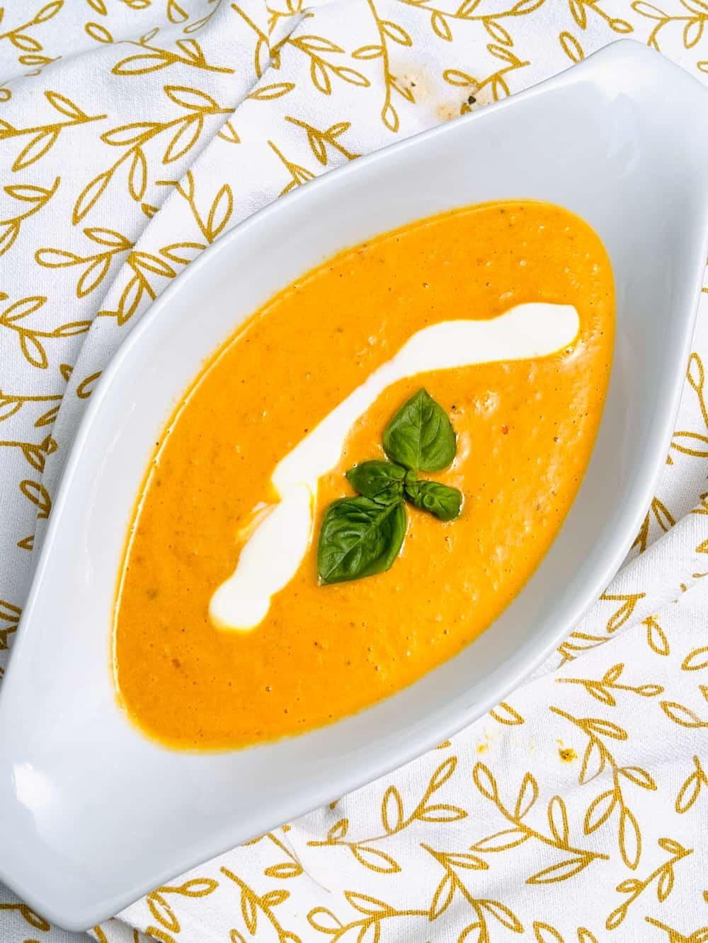 Boursin Baked Tomato Soup Tiktok