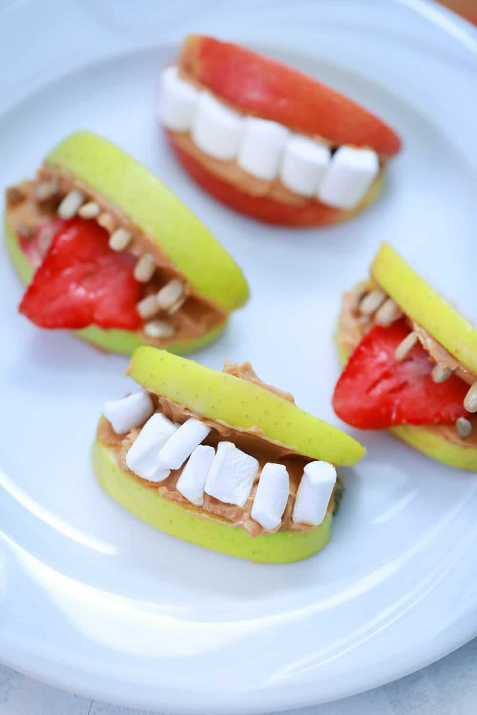 Halloween Apple Teeth