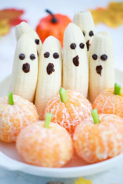 Halloween Banana Ghost Fruit